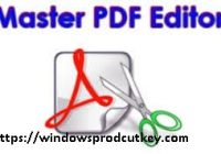 Master PDF Editor 5.4.38 Crack With Serial Key 2020