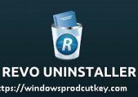 Revo uninstaller pro 4.3.1 crack With Serial Key 2020