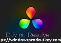 Davinci Resolve Studio 16.2.2 Crack With Activation Key 2020
